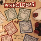 Filet PotHolders in Bedspread Weight Cotton Leisure Arts 2088