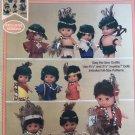 10 Little Indians Glue Patterns No Sew Fibre Craft FCM405
