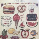 Kitchen Caboodle Mini Series 6 Cross Stitch Chart by Terrie Lee Steinmeyer Leisure Arts 456