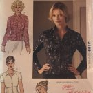 Kwik Sew 3199 Misses Blouses Sewing Pattern Misses Sizes XS, S, M, L, XL