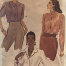 Vogue 8515 Misses Blouse with Collar Variations Size 14 16 18