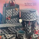 For the Sewing Room, Organizers Tote & More plastic canvas pattern School of Needlework 3142