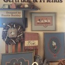 Gertrude & Friends Geese Goose Cross stitch Charts Leisure Arts 468