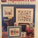 Chris Davenport Alphabet Fun Book Three Cross Stitch Pattern Dimensions 127