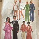 "Simplicity 7737 Doll Clothes sewing pattern for 11 1/2"" fashion doll Vintage 1976  UNCUT"