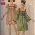 Simplicity 8039 Vintage Baby Doll Dress Sewing Pattern  Size 14
