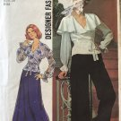 "Simplicity 7173 Woman's Elegant pants, wrap top maxi skirt pattern size 14, bust 36"" UNCUT"