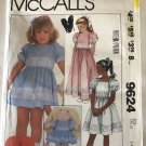 McCall's Sewing Pattern M9624 9624 Girls Sizes 14 Dress Length Options