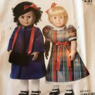 "McCall's 9064 Easy Stitch 'n Save Pattern M9064  18"" doll Dress, top and jumper"