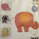 McCall's Easy Stitch 'n Save Pattern M9306 9306 Elephant Toys