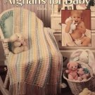 Afghans for Baby Book 4 Crochet Afghans Pattern Leisure Arts Leaflet 2178 5 designs
