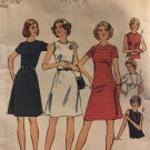 Simplicity 6080 Sewing Pattern Sleeveless or Short Sleeve Sundress Round Neckline size 10