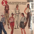 McCalls 2101 1 Hour Drawstring pants, shorts or capris size extra-small, med. or large