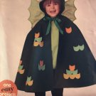 Simplicity Sew Simple Dragon child costumes Cape  Size 3-8