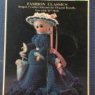 "Fibre Craft 15"" Doll Gown Annabelle FCM 167 Crochet Pattern"