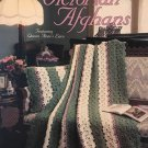 Victorian Afghans Crochet Pattern Featuring Queen Anne's Lace Leisure Arts 977