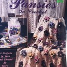 Pansies to Crochet Terry Kimbrough Crochet Pattern Leisure Arts 1431