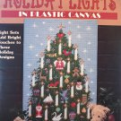 Holiday LIghts in  Plastic Canvas Leisure Arts 1752  Holiday designs with light sets