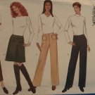 Butterick Sewing Pattern 5767 Misses' Petite Skirt, Straight Legged Pants  Size 6-10