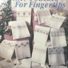 Tender Touches For Fingertips Leisure Arts 2148 14 cross stitch designs by Jane Chandler