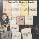 Towels for Good Sports Cross Stitch Charts For FIngertip Towels Leisure Arts 560