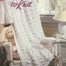 Baby Ripples Afghan Patterns to Knit Leisure Arts 3159