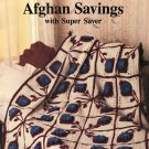 Red Heart Afghans Savings with Super Saver Crochet Pattern book 333