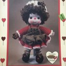 Chocolate Chip Doll from Dumplin Designs Lollipop Lane Crochet Pattern CDC404