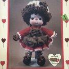 Chocolate Chip Doll from Dumplin Designs Lollipop Lane Crochet Pattern CDC404