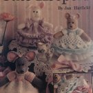 Cute Keepers Crochet Pattern Leisure Arts 2657 Animal Containers