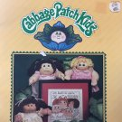 Xavier Roberts presents  Cross Stitch designs for Cabbage Patch Kids 7677 Plaid