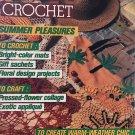 Magic Crochet Pattern Magazine Number 48 June 1987