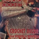 Magic Crochet Pattern Magazine Number 127 August 2000 Borders to Bedspread