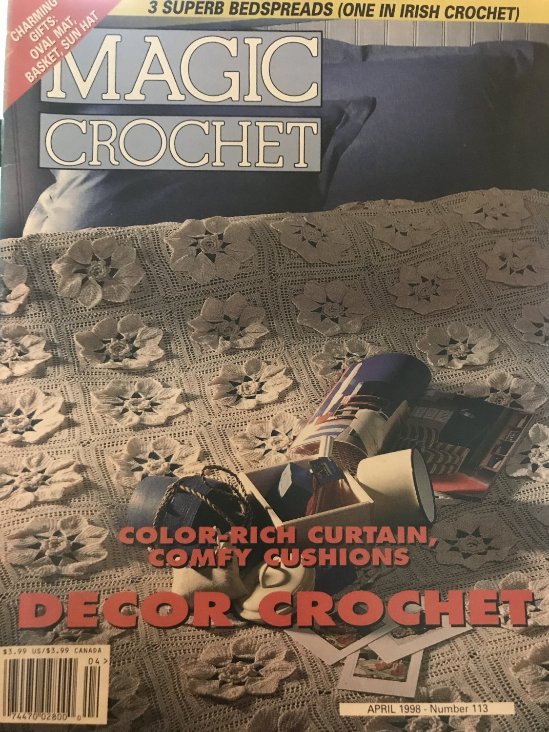 Magic Crochet Pattern Magazine Number 113 April 1998