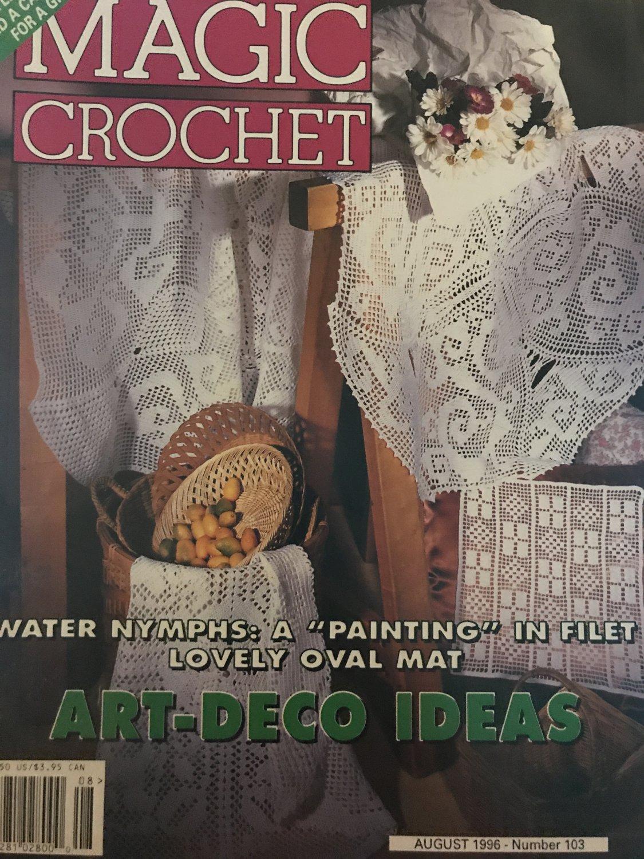 Magic Crochet Pattern Magazine Number 103 August 1996