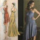 Simplicity 3825 Misses Stretch Knit Dress Sewing Pattern Asymmetrical Hemline Size 12 - 20