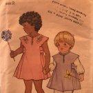 Butterick 3530 Child's Dress Jumper Sewing Pattern Size 2