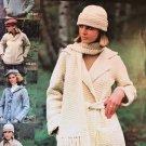 Vintage Bernat Blarney Spun Sweaters Knitting Pattern for Adults & Children book 227