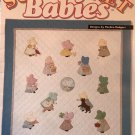 House of White Birches Sunbonnet Babies Quilt Quilting Applique Pattern 141018