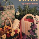 Plastic Canvas TOTES Pattern American School of Needlework 3132