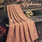 A Year of Afghans Leisure Arts Crochet Pattern 996 12 designs to crochet