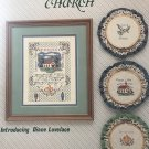 Cross Stitch Pattern Country Church Sampler by Diane Lovelace