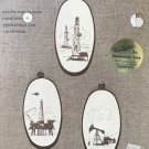 Cross Stitch Pattern Oil Investment by June Craft, Inc. Oil Rigs