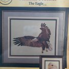 Animal Profiles the Eagle Cross Stitch Pattern Cross my Heart CSB-111