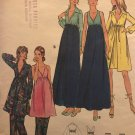 Butterick 6419 Misses Lingerie Empire Nightgown Robe Pants Sewing Pattern Size 14 Bust 36