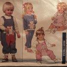 Butterick 6612 Infants Bear Dress jumpsuit Romper Top Jumper designer Ruth Scharf sewing pattern