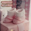 Baby Gifts Bernat Yarn knitting and crochet pattern for Afghans, booties, kimono & more 530212
