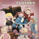 "Crocheted Doll Clothes FIts 15""to 18¨ Dolls Crochet Pattern"