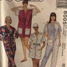 McCalls 6005 Misses Jumpsuit short or long Sewing Pattern Size 22 24