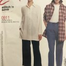 McCalls 0911 or 2836 Easy Stitch 'n Save Misses Top & Pants Sewing Pattern Size 4 - 14